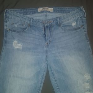 distressed jeans size 10R